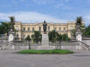 Wenn man mit Tränen Feuer löschen könnte - Das Museu Nacional in Rio de Janeiro