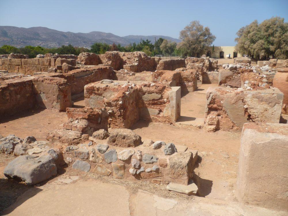 Überreste vom Palast von Malia.