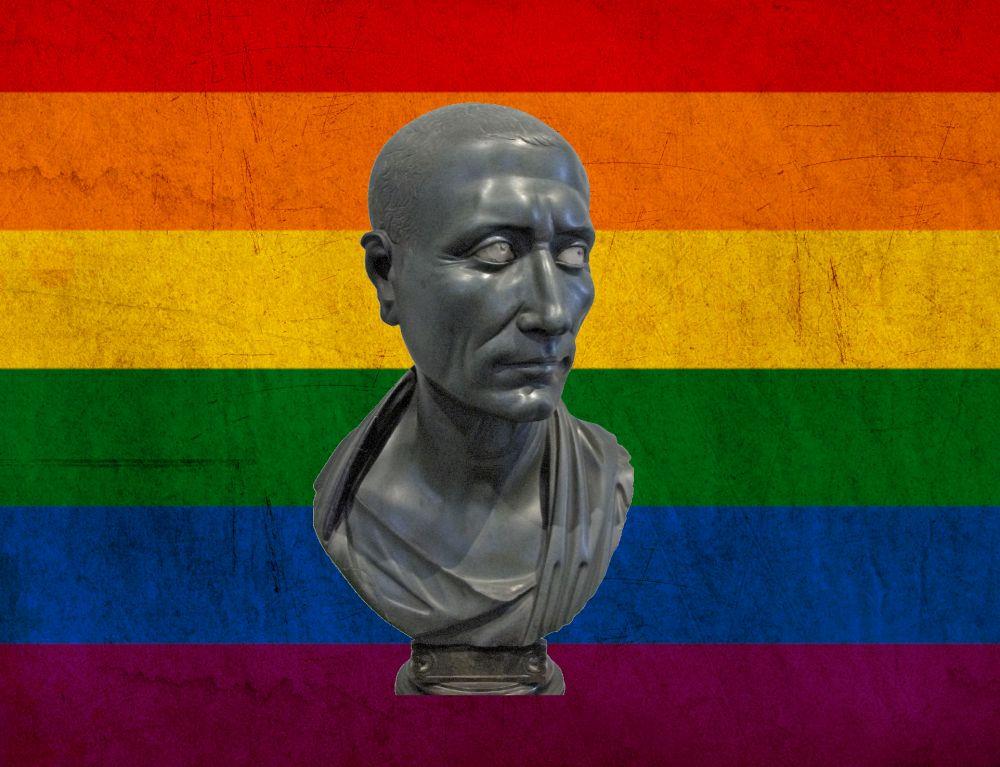 War Gaius Julius Caesar schwul?