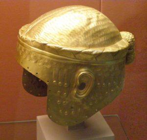 Der goldene Helm des Meskalamdug