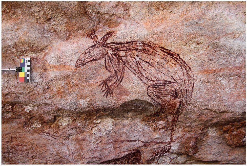 Australische Felsbilder und der Fund eines Missing Links