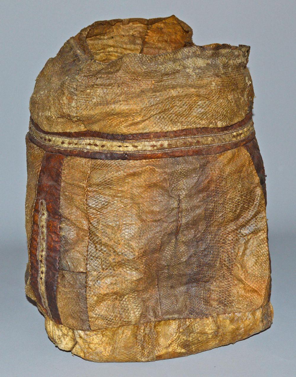 Die Tasche von der Seite