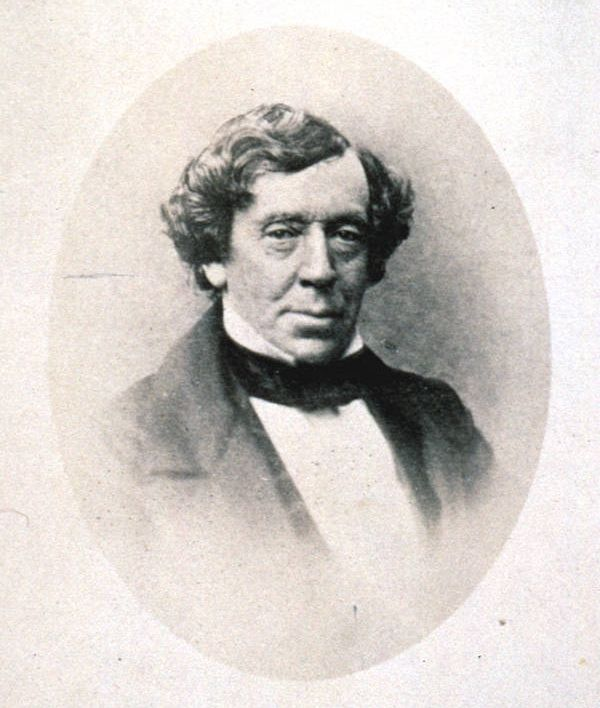Ein altes Foto vo Geroge Augustus Robison.