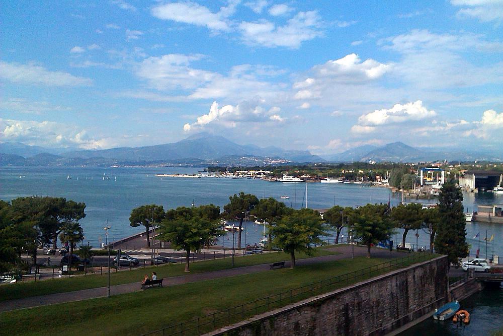 Bucht vom Gardasee