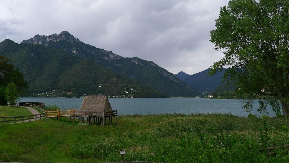 Ledrosee mit Hütte