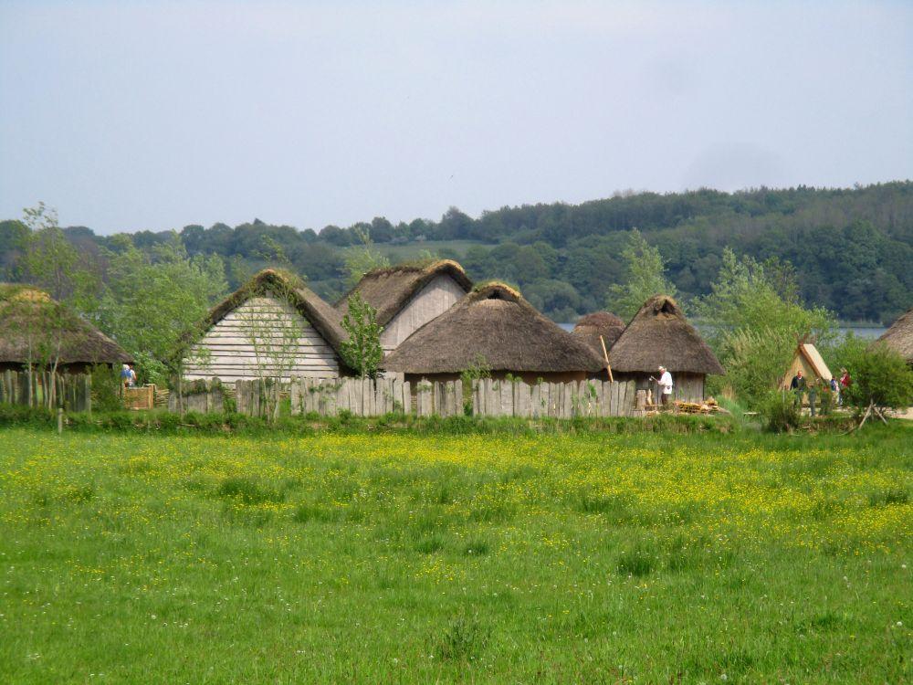 Die Hausrekonstruktionen von Haithabu