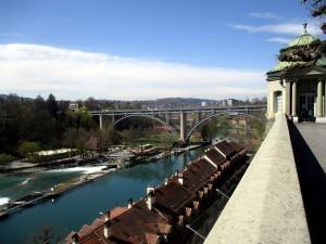 Ausblick auf die Kornhausbrücke