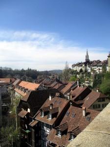 Bern eine Stadt mit mehreren Etagen