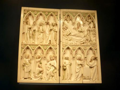 Diptychon aus dem 14. Jahrhundert