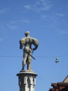 Brunnenfigur am Bärenplatz