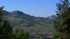 Ausblick in die Berge