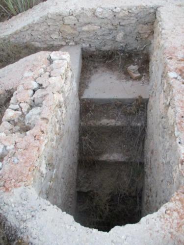 Treppe iin einen altern Keller