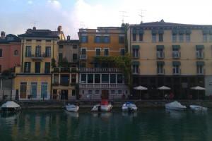 Der alte Hafen von Peschiera