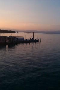 Blick auf dem Gardasee