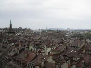 Aublick über Bern