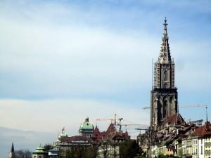 Der Münstertrum über Bern