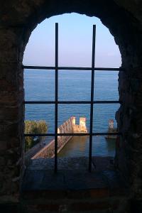 Ausblick auf den mittelalterlichen Hafen