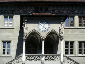 Eingang zum Berner Rathaus