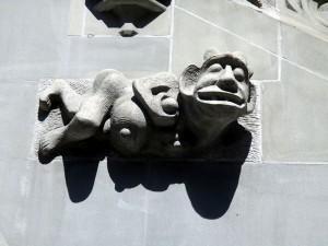 Gothische zirde am Berner Rathaus