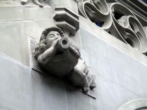 Engel am Gothischen Rathhaus