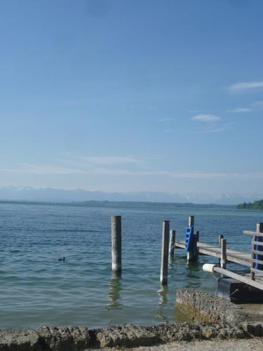 Zu Gast auf der Roseninsel im Starnberger See