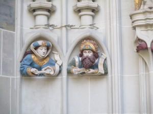 Figuren des Mittelalterlichen Münsterportals